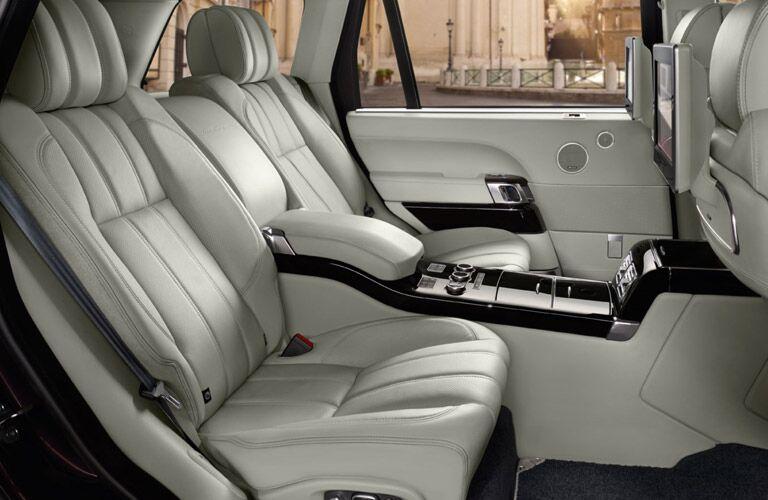 2016 Range Rover interior second row seats