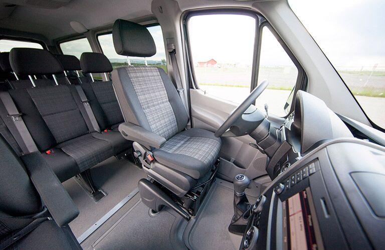 2016 Mercedes-Benz Passenger Van Seating Capacity