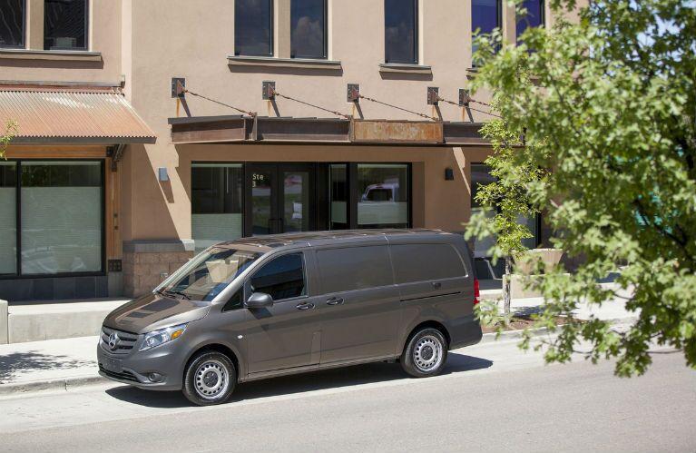 Brown Mercedes-Benz Metris Van Exterior