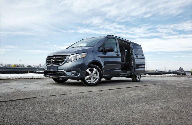 Navy Blue Mercedes-Benz Metris Van
