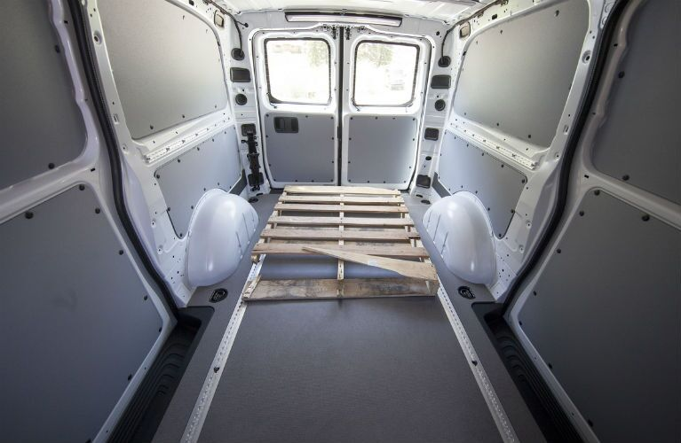 2016 Mercedes-Benz Metris Cargo Van space