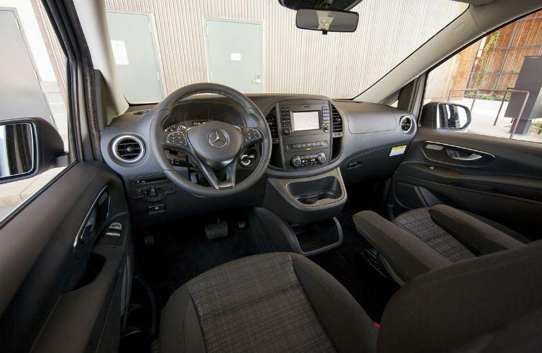 2017 Mercedes-Benz Metris Passenger Van Cockpit