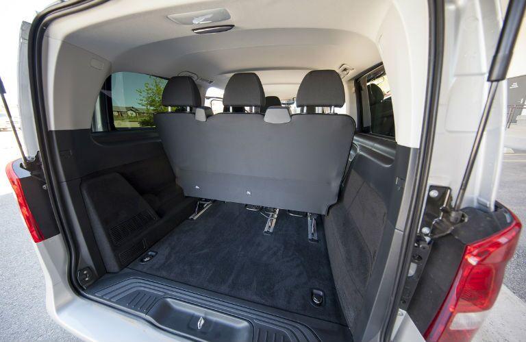 2016 Mercedes-Benz Metris Passenger Van Cargo Capacity