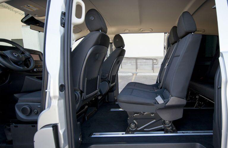 2016 Mercedes-Benz Metris Passenger Van middle seats