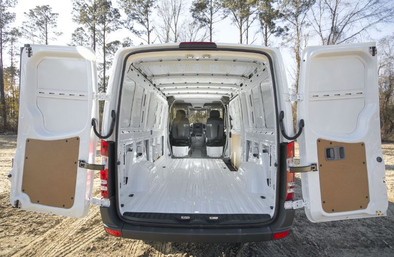 2016 Mercedes-Benz Sprinter WORKER Open Tailgate