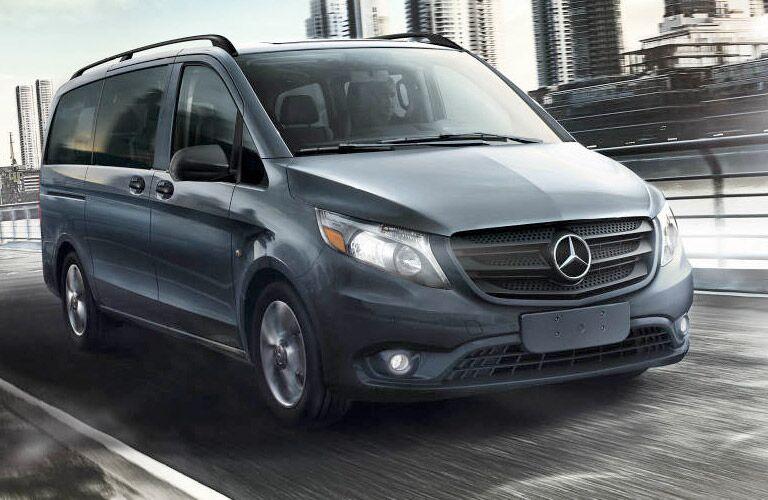 2017 Mercedes-Benz Metris Passenger Van front grille