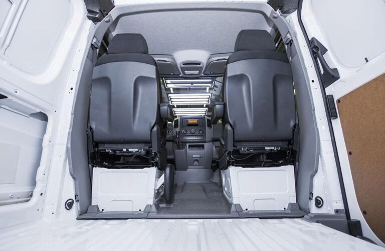 Sprinter Cabin and Cargo space