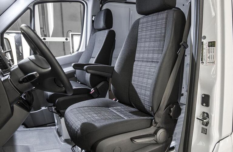 2017 Mercedes-Benz Sprinter Cargo Front Seats