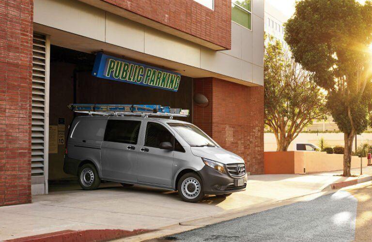 Does the Mercedes-Benz Metris Cargo Van fit in a parking garage?
