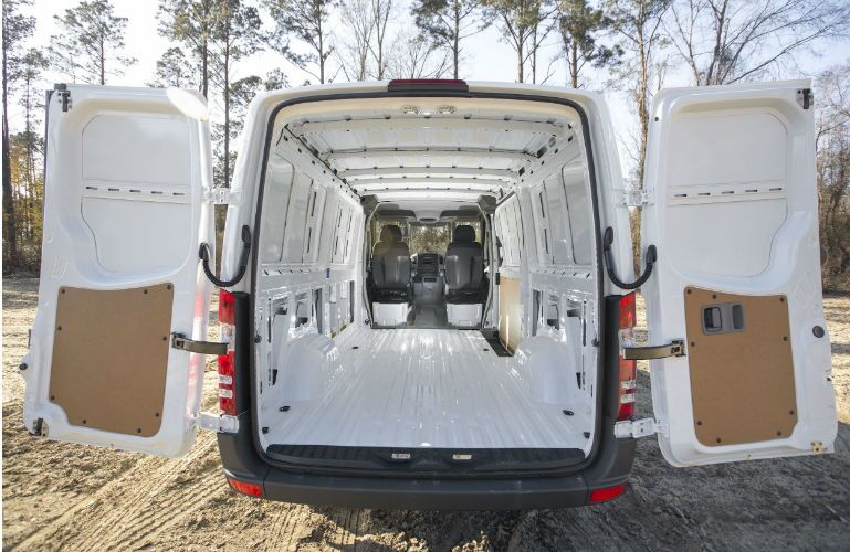 2017 Mercedes-Benz Sprinter Open Rear Gate
