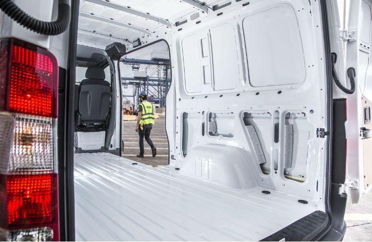 Empty Mercedes-Benz Cargo Van