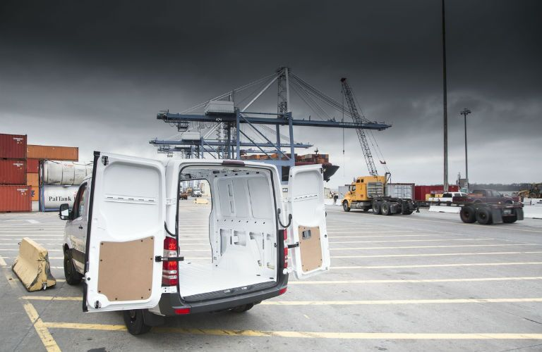 Mercedes-Benz Sprinter WORKER Waiting to be filled with cargo