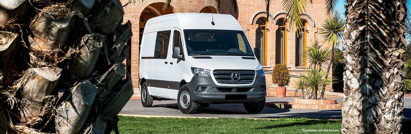 2018 Mercedes-Benz Sprinter Crew Van in white