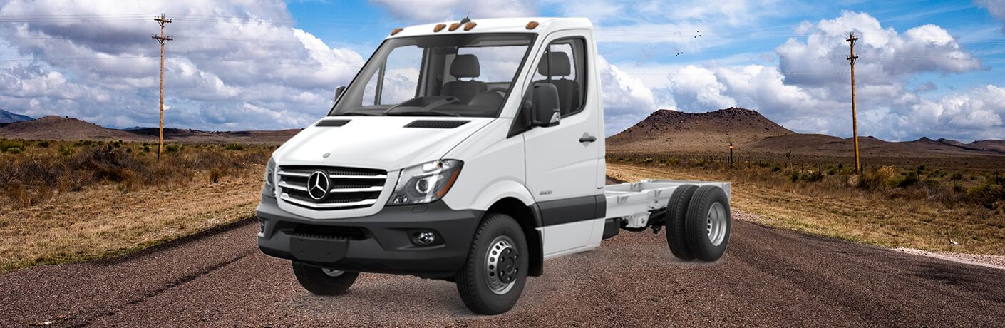 2018 mercedes-benz sprinter chassis cab outdoor view