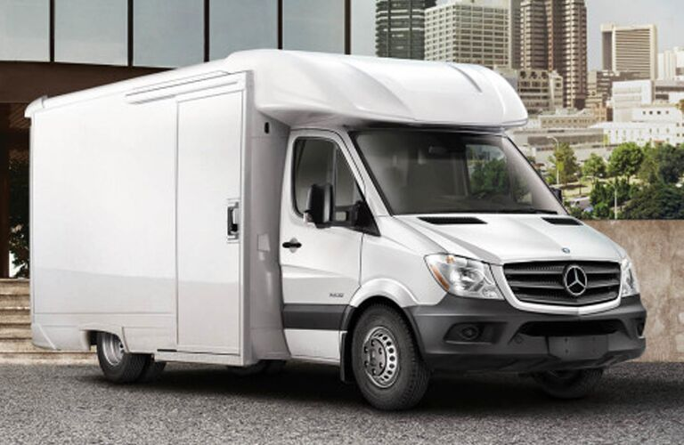 2018 mercedes-benz sprinter chassis cab full view parked