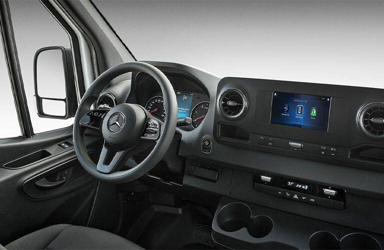 2020 Mercedes-Benz Sprinter 3500 Crew Van steering wheel