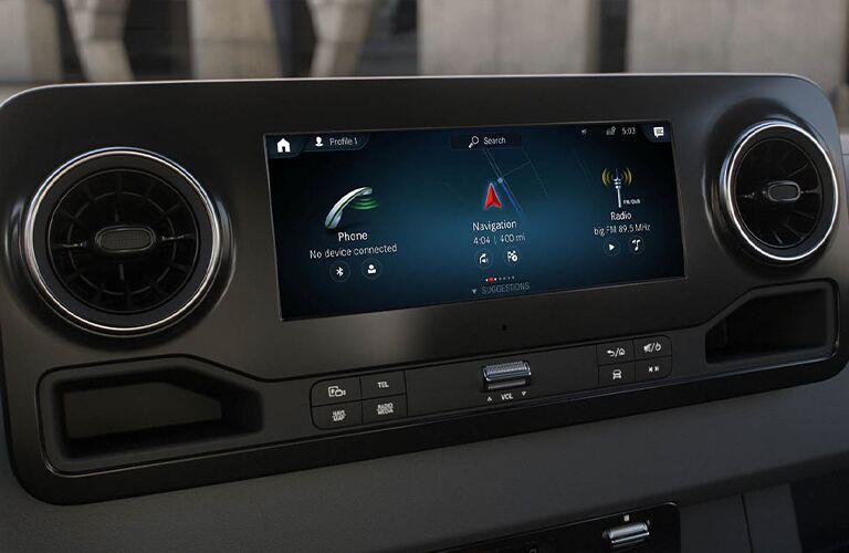 2020 Mercedes-Benz Sprinter 3500 Crew Van front display screen