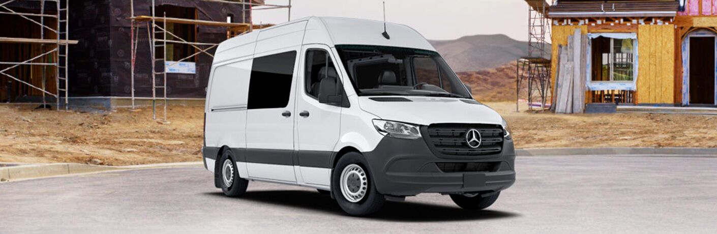 2020 Mercedes-Benz Sprinter Crew Van in white