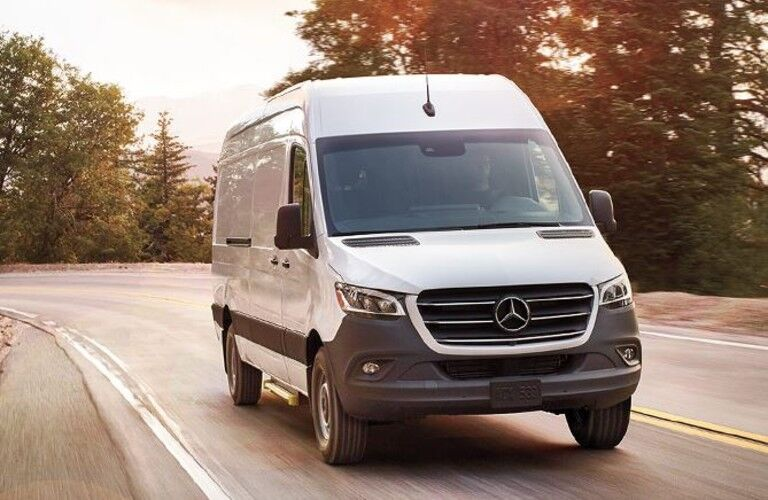 2020 Mercedes-Benz Sprinter Cargo Van front view