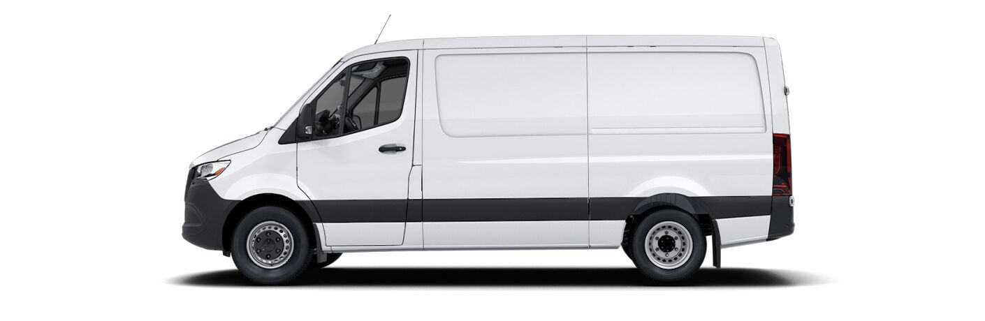 2021 Mercedes-Benz Sprinter 3500 Cargo Van side view