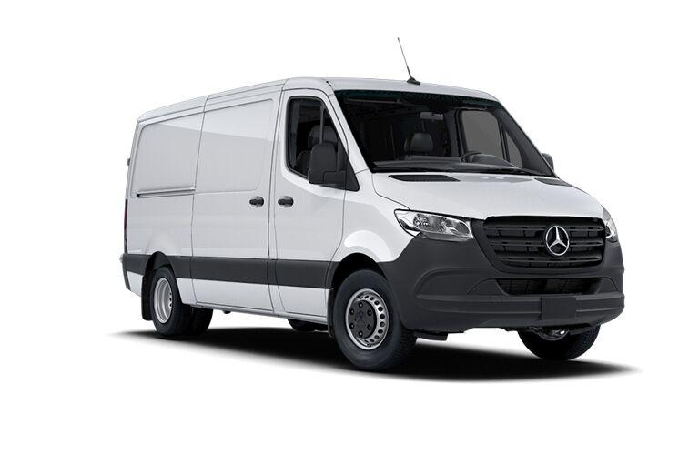 2021 Mercedes-Benz Sprinter 3500 Cargo Van front view
