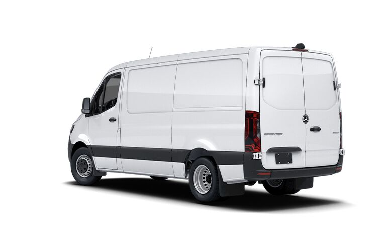 2021 Mercedes-Benz Sprinter 3500 Cargo Van rear view