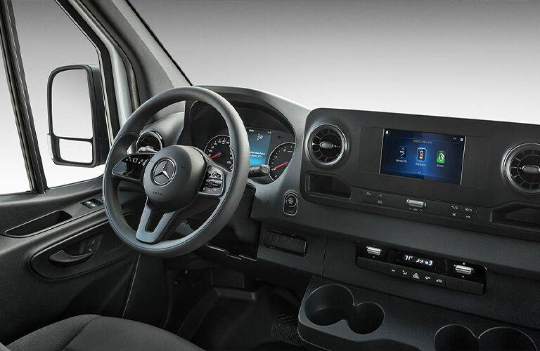 2021 Mercedes-Benz Sprinter 3500 Cargo Van steering wheel
