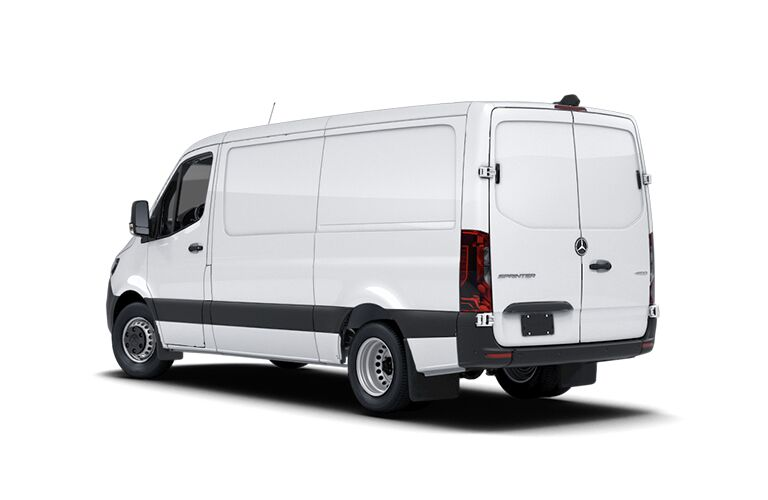 2021 Mercedes-Benz Sprinter 4500 Cargo Van rear view