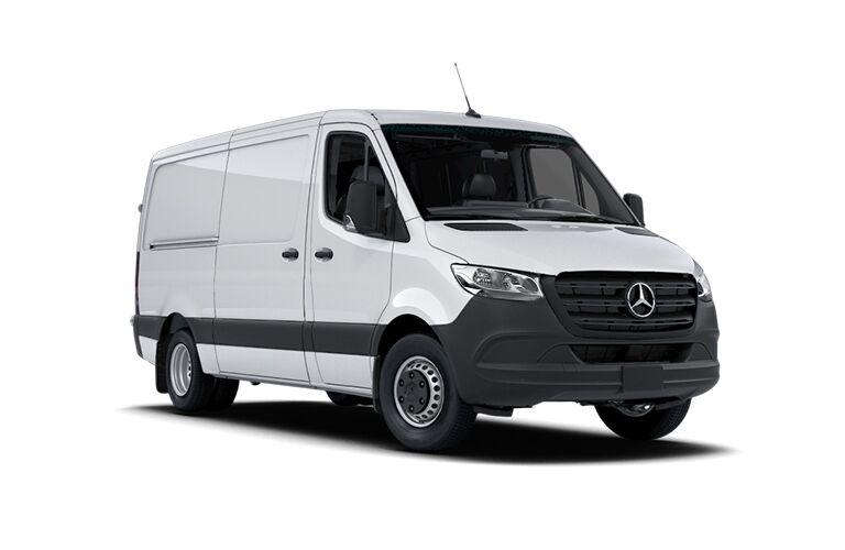 2021 Mercedes-Benz Sprinter 4500 Cargo Van front view