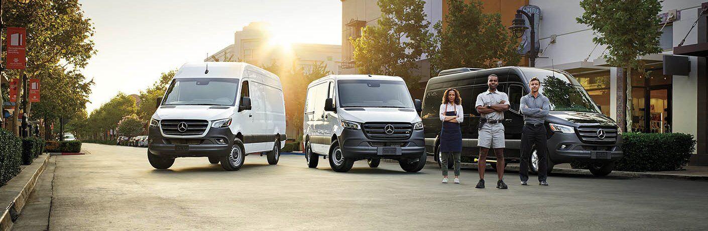 2021 Mercedes-Benz Sprinter Van Lineup