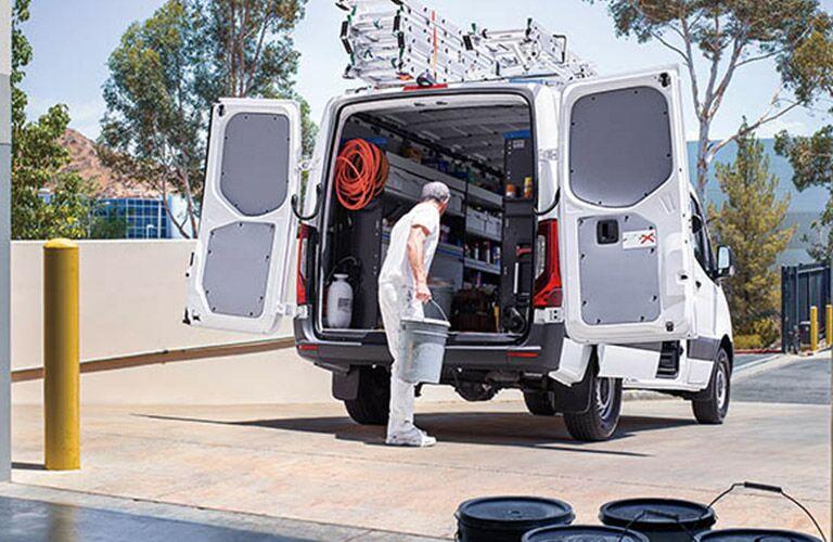 2021 Mercedes-Benz Sprinter 2500 Cargo Van Exterior Rear Open