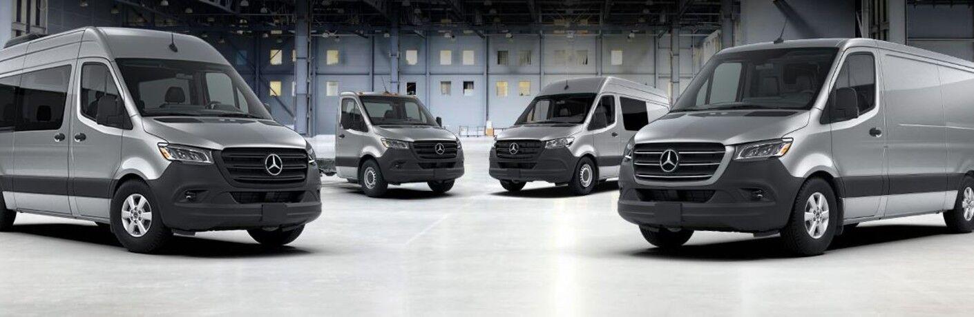 2020 Mercedes-Benz Sprinter Crew Van with other vans