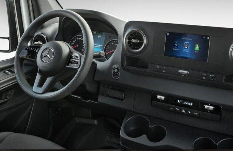 2020 Mercedes-Benz Sprinter Cargo Van front seats