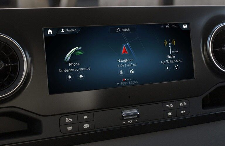 2020 Mercedes-Benz Sprinter Crew Van dashboard
