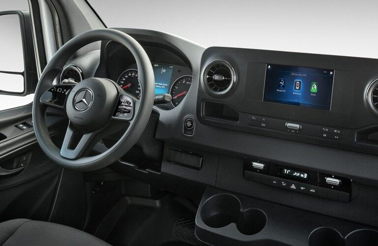 2020 Mercedes-Benz Sprinter Cab Chassis steering wheel