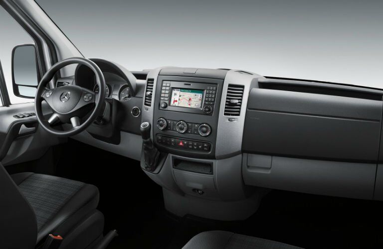 Mercedes-Benz of Sprinter Cargo Van interior