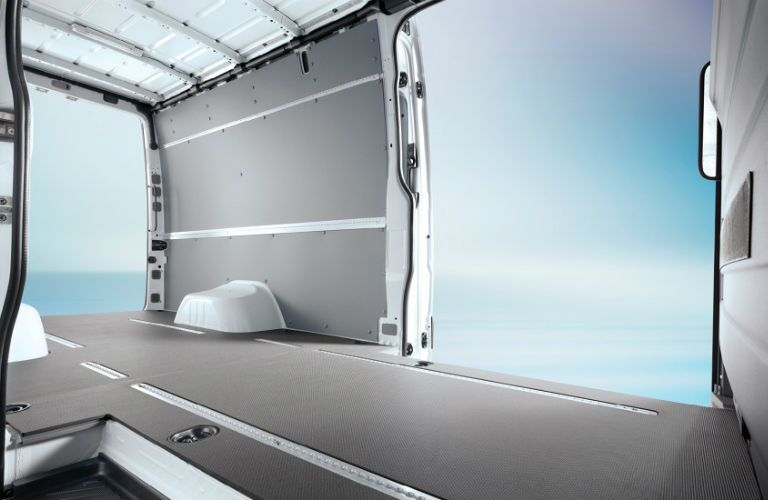 2016 Mercedes-Benz Sprinter Cargo Van Storage Capacity