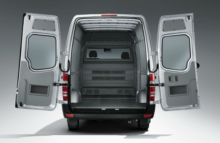 How much space does the Mercedes-Benz Sprinter Cargo Van have?