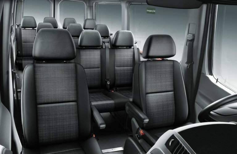 2017 mercedes-benz sprinter passenger van seating rows