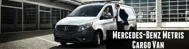 You may also like the 2017 Mercedes-Benz Metris cargo van