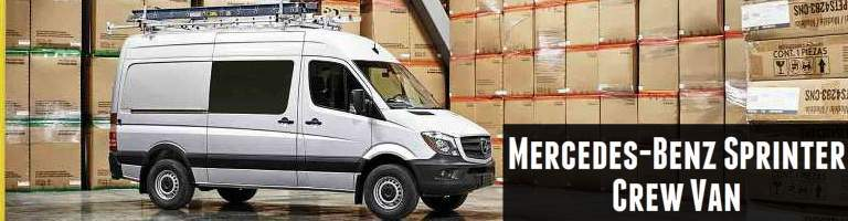You may also like the 2017 Mercedes-Benz Sprinter Crew Van