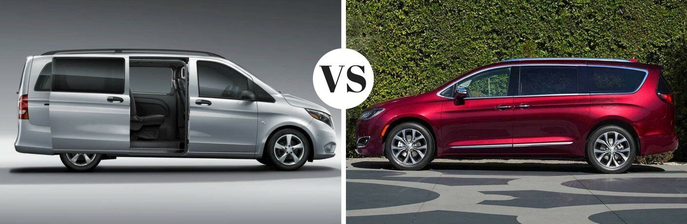 2017 Mercedes-Benz Metris Passenger Van vs 2017 Chrysler Pacifica