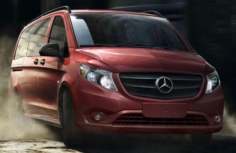 red 2020 Mercedes-Benz Metris Van