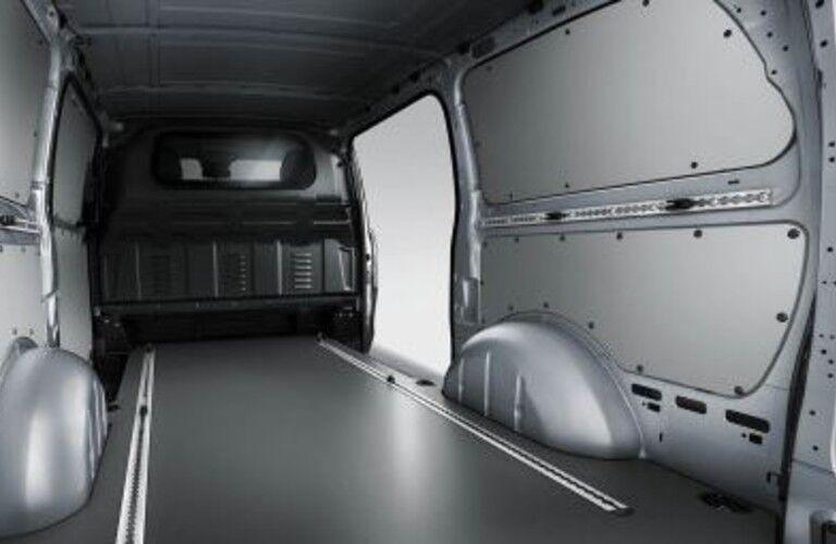 inside of a 2020 Mercedes-Benz Metris WORKER Cargo Van