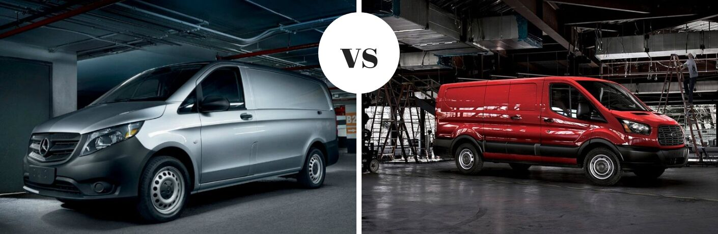 2019 Mercedes-Benz Metris Cargo Van LWB vs 2018 Ford Transit Connect LWB