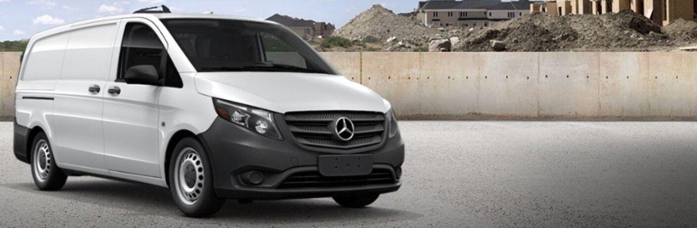 white 2020 Mercedes-Benz Metris Cargo Van