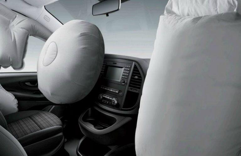 metris cargo van airbags