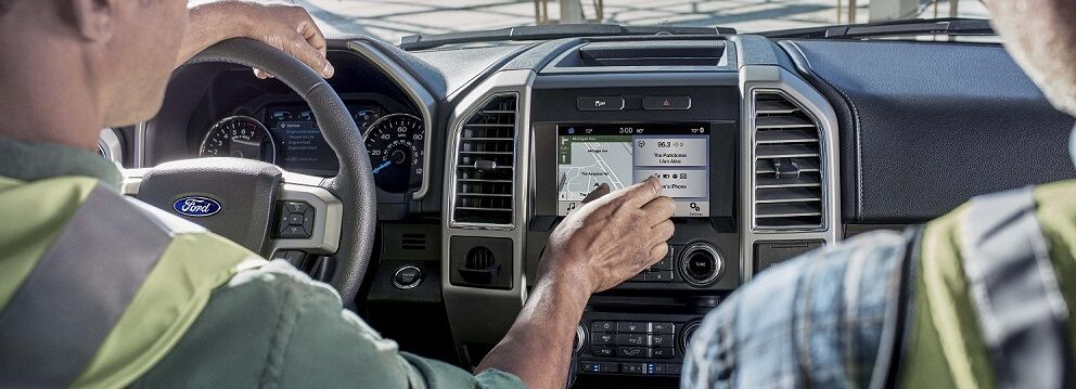 Ford F-150 Interior Technology Features