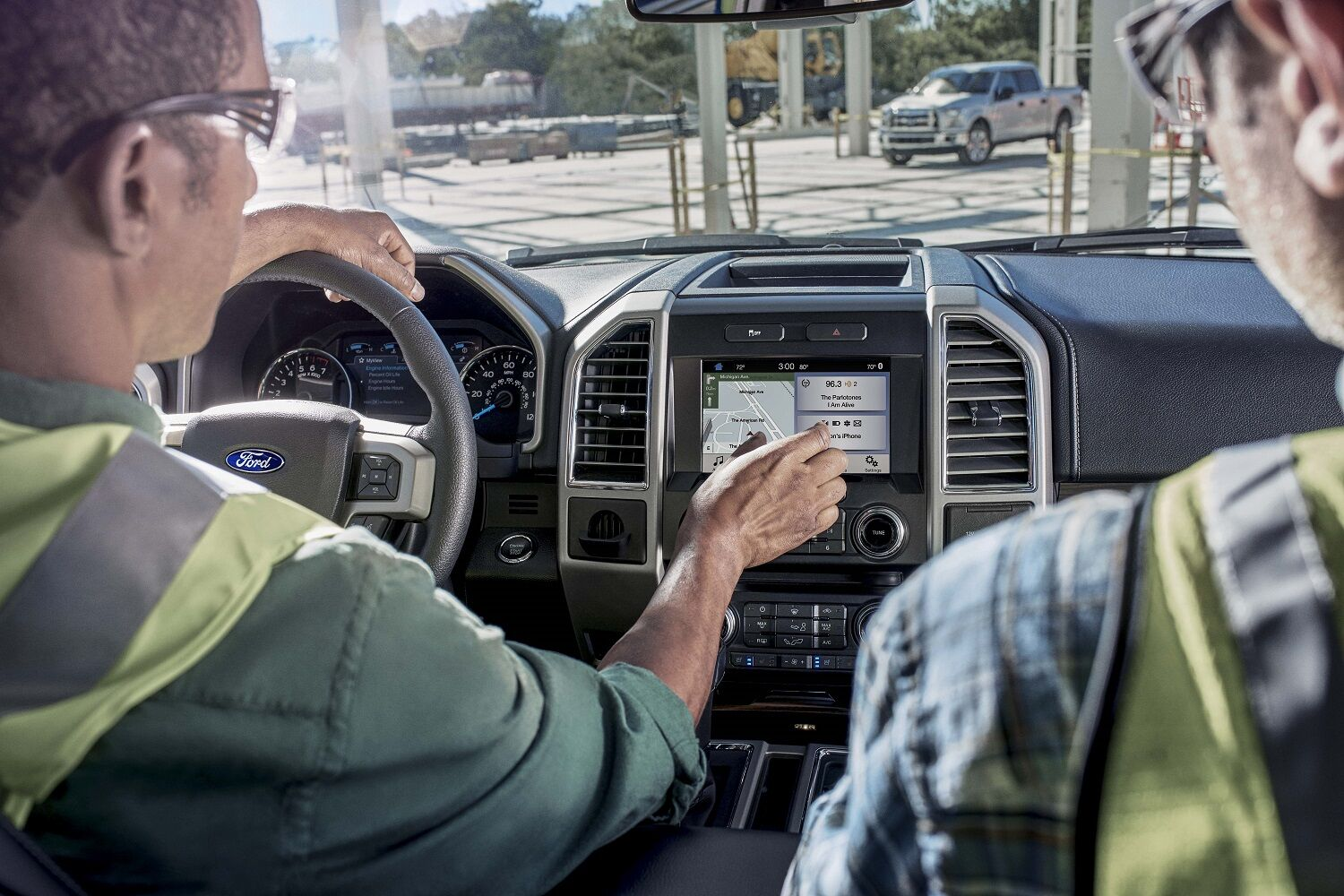 2018 Ford F-150 Interior Technology