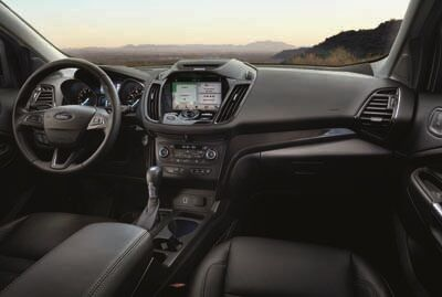 Ford Escape Interior Technology